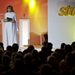 Ómolnár Miklós, a Story főszerkesztője Szulák Andreával vezette a díjátadót