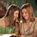 Amber Benson, Tara Maclay szerepében és Alyson Hannigan, Willow Rosenberg szerepében (Buffy, a vámpírok réme)