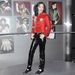Michael Jackson a New York-i művészek szerint nézett ki így.