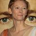 Tilda Swinton az Élet fája premierjén
