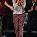 Beyoncé pizsamában, meccsen.