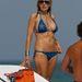 Néhány nappal korábban szintén Miami Beachen egy kék bikiniben