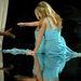 Egy divatshow-n taknyolt nagyot Carmen Electra, szintén 2007-ben.