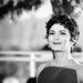 Audrey Tautou a Cannes-győztesek sajtótájékoztatóján.