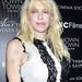 Courtney Love az Ain't Them Bodies Saints bemutatóján, New Yorkban
