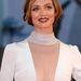 Francesca Cavallin fehérben (ez dress code lehetett)