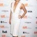 Mila Kunis is megvillantotta tehetségét a Third Person című romantikus film bemutatóján, Torontóban.