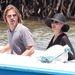 Volt, amikor menő kalandornak nézett ki a hosszú hajával, különösen a csónakázáshoz kissé túlöltözött Angelina Jolie-val