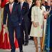 Katalin testvérei, Pippa és James Middleton is hivatalosak voltak.