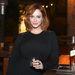 Christina Hendricks a Johnnie Walker arcaként a cég eseményén idén októberben