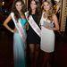 A büszke szépségkirálynők: Tímár Brigitta (Miss Intercontinental Hungary), Rákosi Annamária (Miss World Hungary) és Kárpáti Rebeka (Miss Universe Hungary)