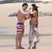 A tengerparton még egy kis bikiniigazgatásra is volt lehetőség.