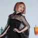 Rainie Yangot is láthatták már egy előző galériában. Itt rózsaszín és narancsos