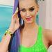 És már megint Katy Perry. Volt kék-lila is