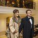 Szandi férjével, Bogdán Csabával érkezett