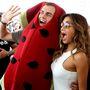 Nicole Scherzinger Dubaiban találkozott egy dinnyének öltözött emberrel