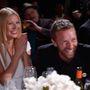 2014. január - Nagyon ritka pillanat: Gwyneth Paltrow és Chris Martin együtt jelentek meg Sean Penn partiján