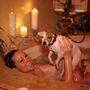 Mariah Carey melleit a kutyája láthatta itt a legjobb szögből.