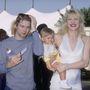 Kurt Cobain, Courtney Love és lányuk a tizedik MTV Music Awards-on
