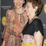 Maggie Gyllenhaal és édesanyja, Naomi Foner a Sundance egyik rendezvényén.