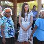 A National Indigenous Training Academyn bennszülöttekkel találkoztak
