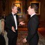 Vilmos herceg Benedict Cumberbatch-csel is eszmét cserélt.