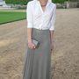 Emma Watson színésznő, aki már jó ideje nem hasonlít a Harry Potter-filmek Hermione-jára.