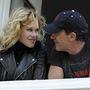 Tavaly már azt pletykálták, közel a válás, de a pár cáfolt, és nyilvánosan mosolygott a híreken
