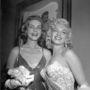 Bacall és Monroe a Hogyan fogjunk milliomost? premierén.
