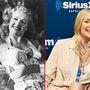 A bal oldali képen Betty Grable amerikai színésznő látható, aki 1916 decemberében született. Filmes karrierje során nemcsak színészkedett, énekelt és táncolt is. Alighanem ezért voltak az övék Hollywood legszebbnek tartott, legtöbbet fotózott lábai. A jobb oldali képen Kate Hudson amerikai színésznő látható, aki 1979 áprilisában született.
