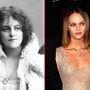 A kép bal oldalán Marie Studholme látható. A színész-énekesnő 1872 szeptemberében született, iskolaévei alatt szerette meg a színházat. Főleg zenés előadásokban szerepelt, ezekkel járta be egész Nagy-Britanniát. 57 évesen hunyt el. A kép jobb oldalán Vanessa Paradis énekes-színésznő látható, aki 1972 decemberében született.