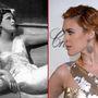 Bal: Hedy Lamarr osztrák születésű (1914 november) színésznő, feltaláló. Ezen a képen az Eksztázis című 1933-as film jelenetében látható, amelyben közelről látható az orgazmusa. Jobb: Rumer Willis, 1988-ban született, színészettel kacérkodó celebleszármazott.