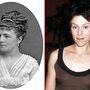 A kép bal oldalán láthat Céline Chaumont francia színésznőről nem tudunk sokat, csak hogy ez a kép 1876-ban készült róla, amikor Párizsban szerepelt. A kép jobb oldalán Frances McDormand látható, aki 1957-ben született, és ha másban nem, a Majdnem híres című filmben biztosan látta már.