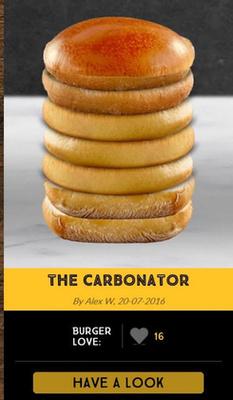 Az új-zélandi meki kreatív szendvicsei.