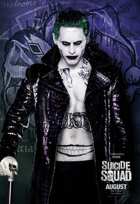 Ő pedig az idén nyári, San Diego-i Comic Conon öltözött be Jokernek, szintén szemlátomást Jared Leto stílusát követve.