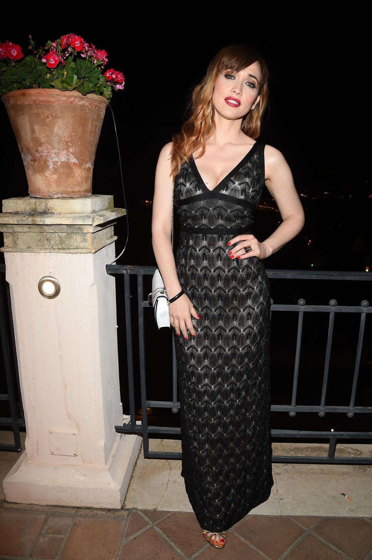 Péntek éjjel: Chiara Francini a Taorminai filmfesztivál buliján
