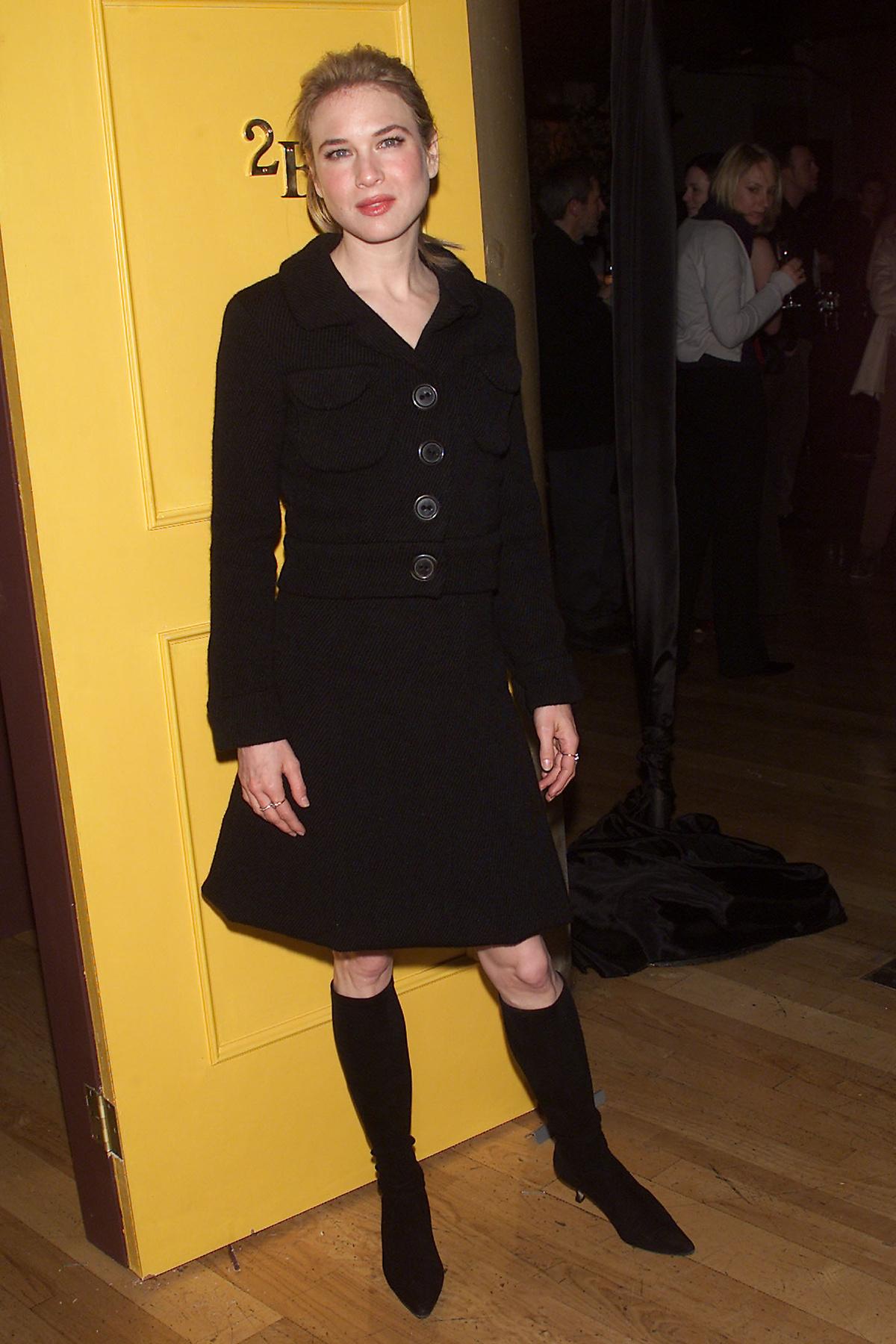 Velvet – Renée Zellweger a 3 Bridget Jones-film bemutatóin ...