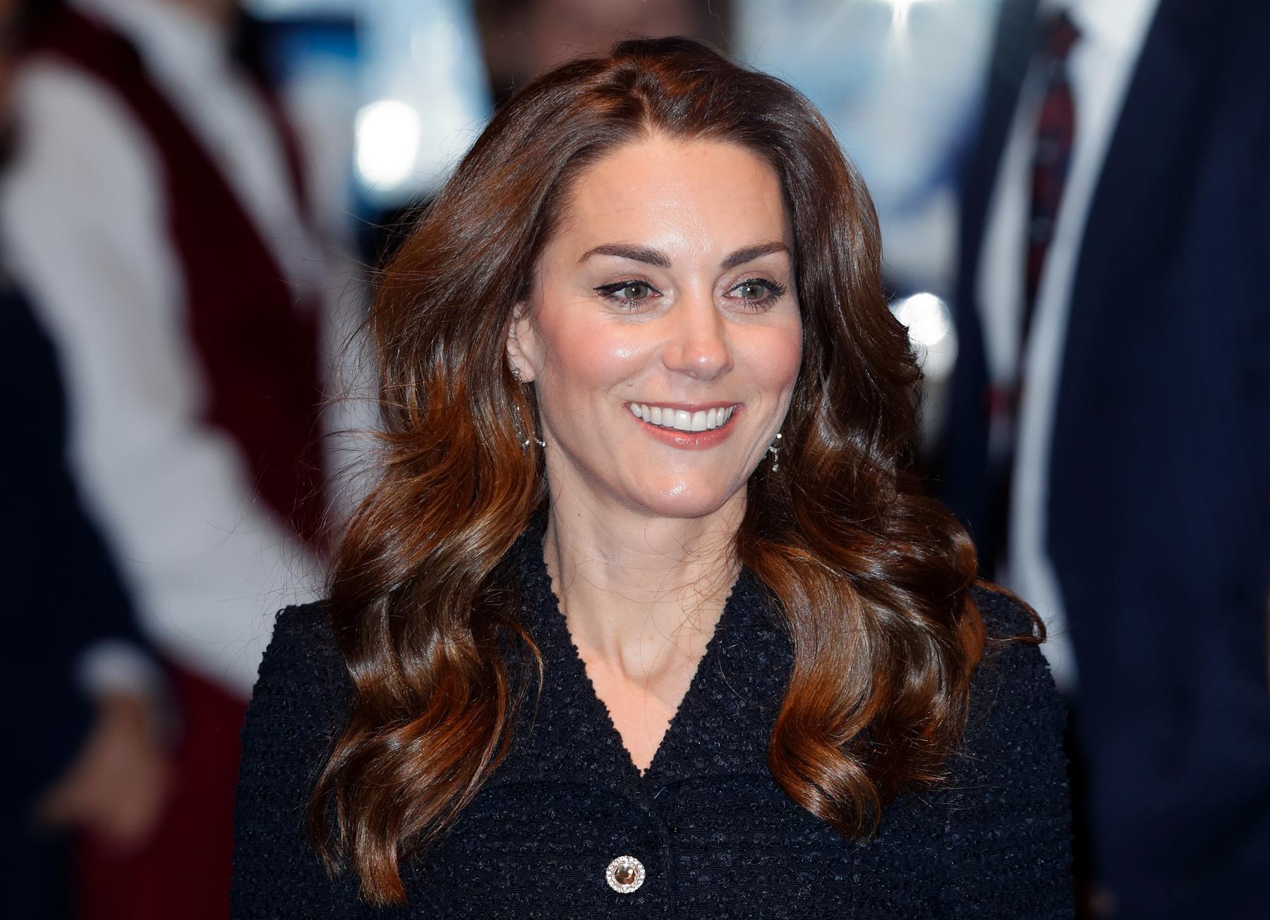 Katalin hercegné február 25-én.