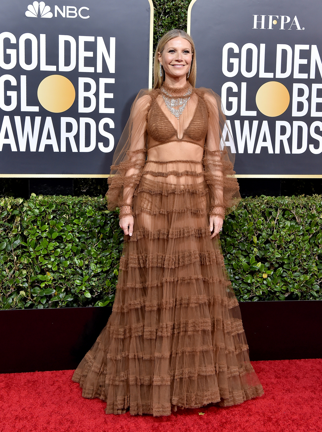 Kate Hudson a 2018-as Golden Globe-díjátadón.