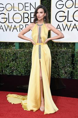Kate Hudson a 2018-as Golden Globe-díjátadón.