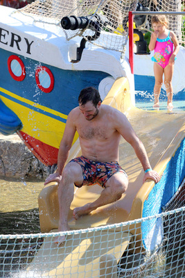 Chris Pratt vakációzik