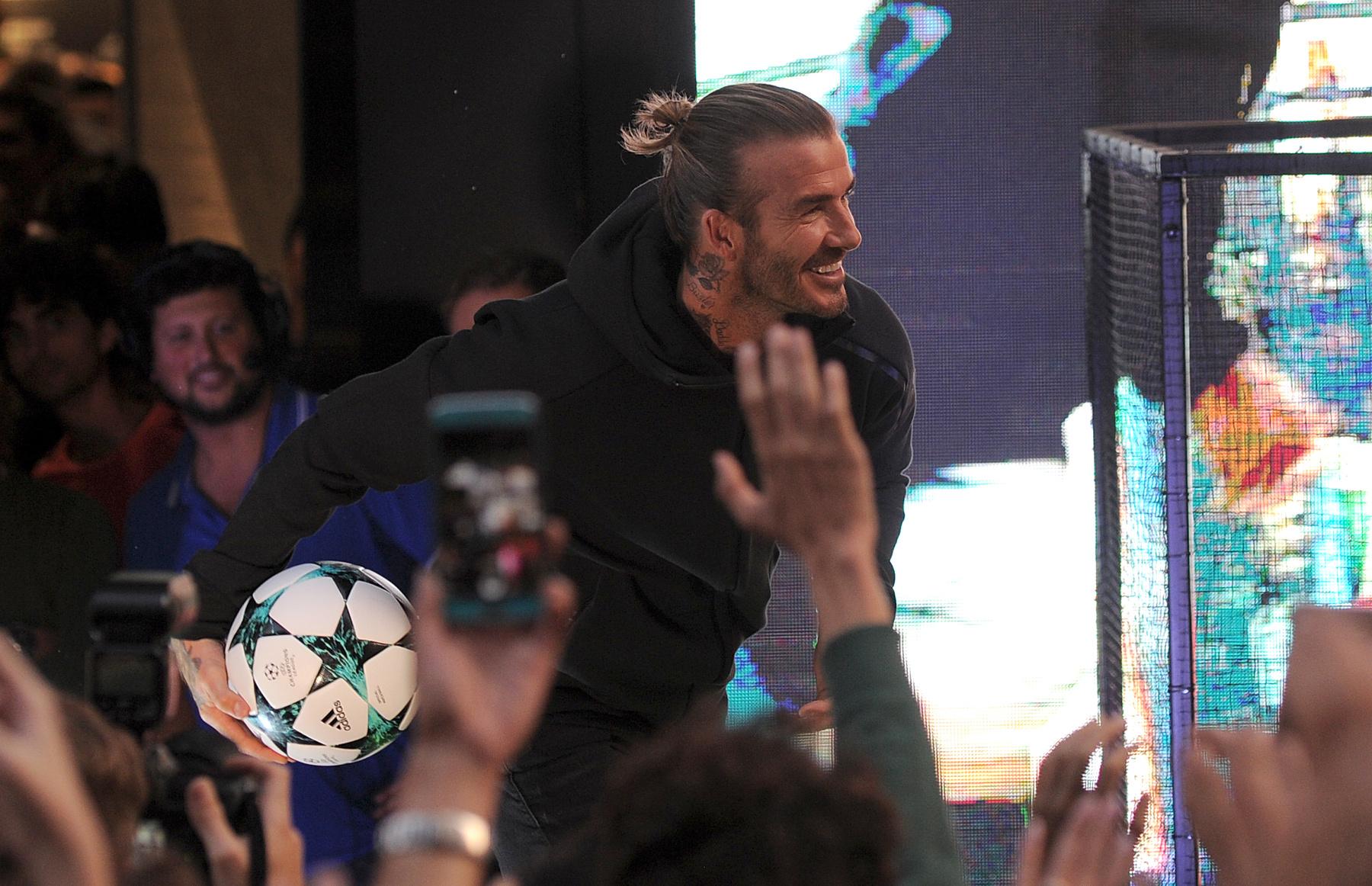 Köszönjük, David Beckham.