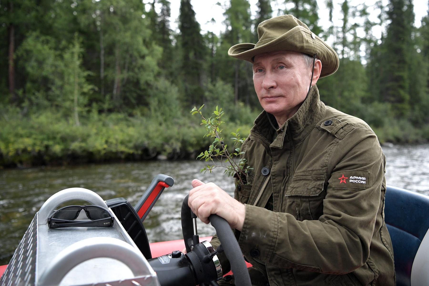Putyin hallal pózol.