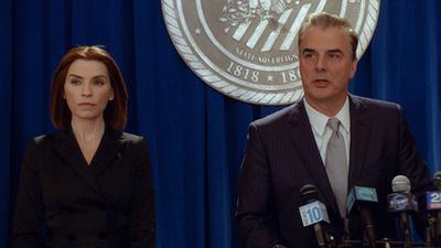 Alicia Florrick és Jason Crouse, azaz Julianna Margulies és Jeffrey Dean Morgan a The Good Wife hetedik évadában