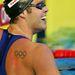 Dominic Meichtry svájci úszó egy 2007-es képen. Ő még Pekingre készült ekkor, de Londonban is indult.