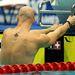 Brent Hayden kanadai úszó egy 2010-es képen. A kanadai olimpiai csapatnak szentelte hátát.