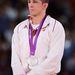 A szomorú birkózó, Lőrincz Tamás, a kötöttfogású 66 kilós súlycsoport 2. helyezettje.
