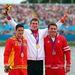 David Cal Figueroa spanyol kenus (balra) nem örül 1000 méteres második helyének.
