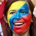 Kolumbiai színű arcfesték.