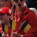 Nagy, zászlós, belga ordítás.
